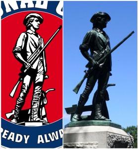 National Guard Minuteman Clipart.