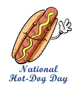 National Fast Food Day Clipart.