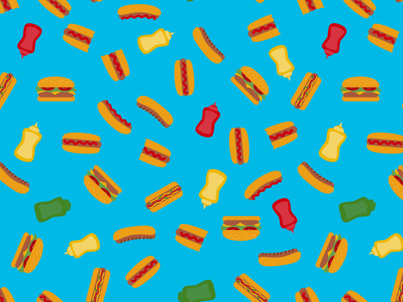 National Hot Dog Day by Crystal_Whitlow on Dribbble.