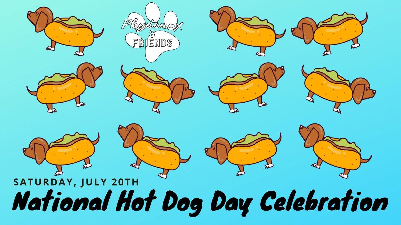 National Hotdog Day — Dogs Around Austin.
