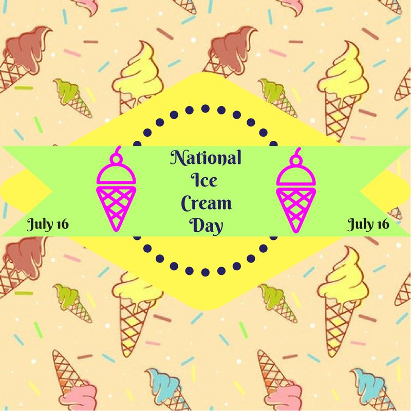 National Ice Cream Day!.