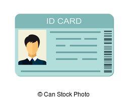Identity Card Clipart.