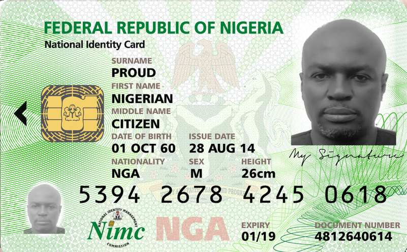Nigeria rolling out eID cards.
