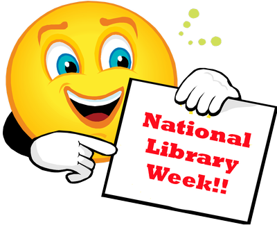 National Library Week Clipart.