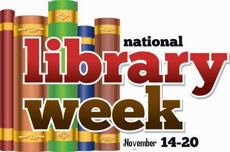GJC Librarians Association : National Library Week Novmber 14.