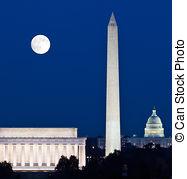 Washington dc skyline Stock Photos and Images. 346 Washington dc.