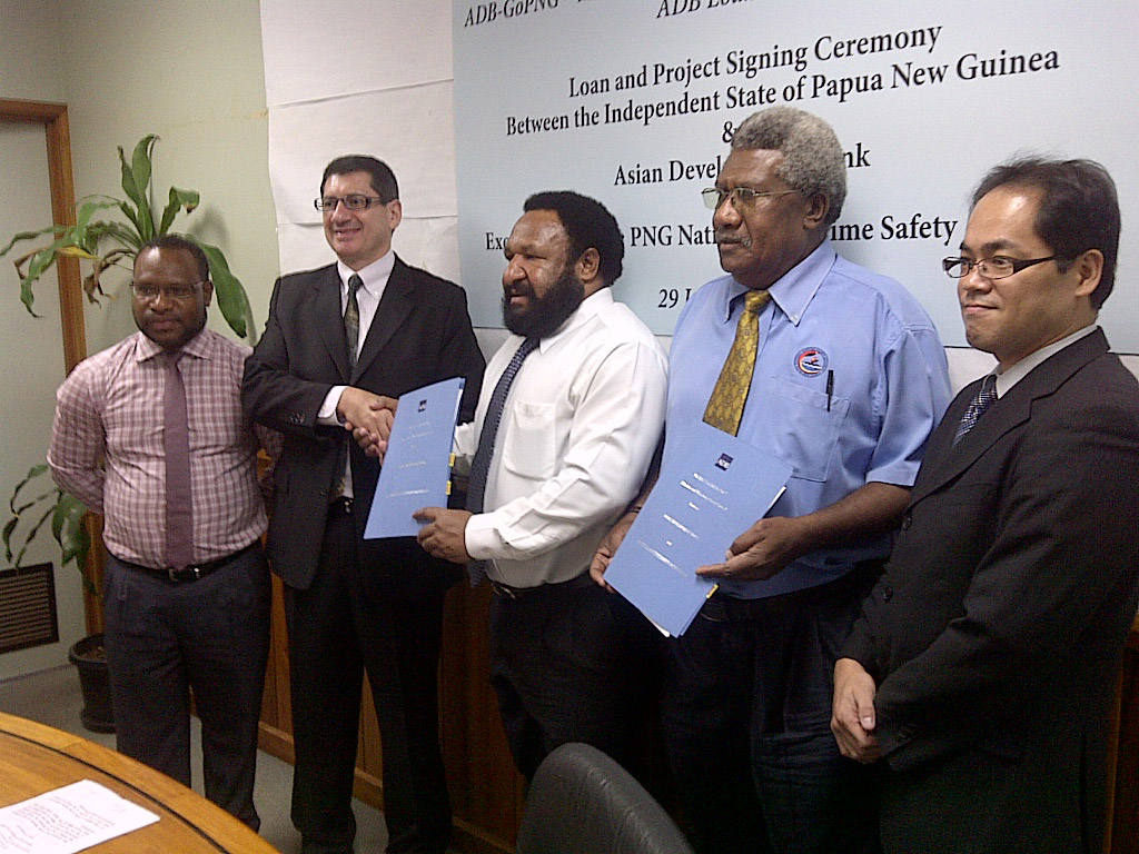 ADB to Help Papua New Guinea Improve Maritime Safety and.
