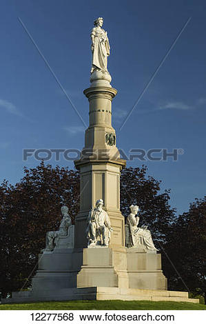 Pictures of Soldiers' National Monument (site of Gettysburg.