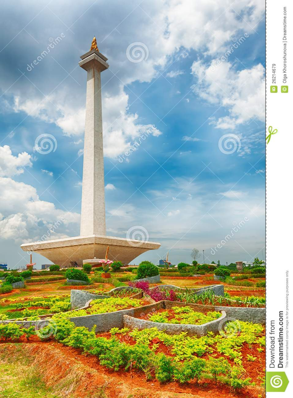 National Monument Monas Royalty Free Stock Images.