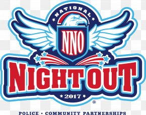 2018 National Night Out Logo Police Clip Art Crime, PNG.