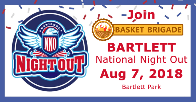 Bartlett National Night Out 2018.