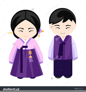 National Costume Clipart.