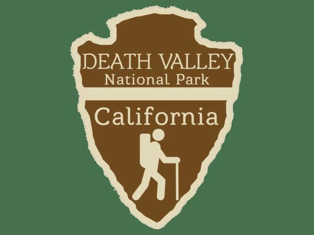 Death Valley National Park Trail Logo transparent PNG.