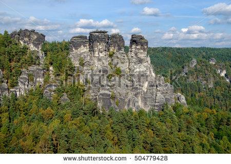 National Park Saxon Switzerland Stock Photos, Royalty.