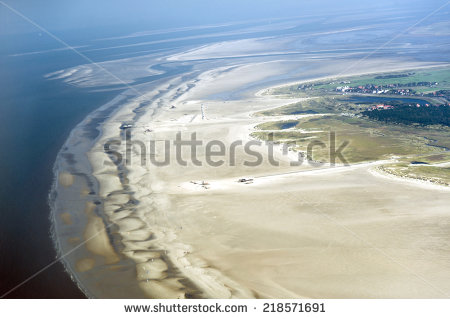 Wadden Sea National Parks Stock Photos, Royalty.