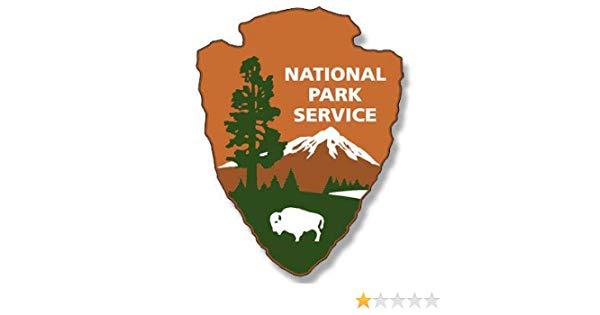 Amazon.com: JR Studio 2x3 inch National Parks Service.