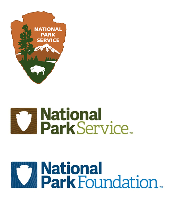 Brand New: New Logos for National Park Foundation and.