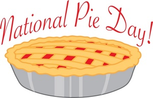 National Pie Day Clipart.