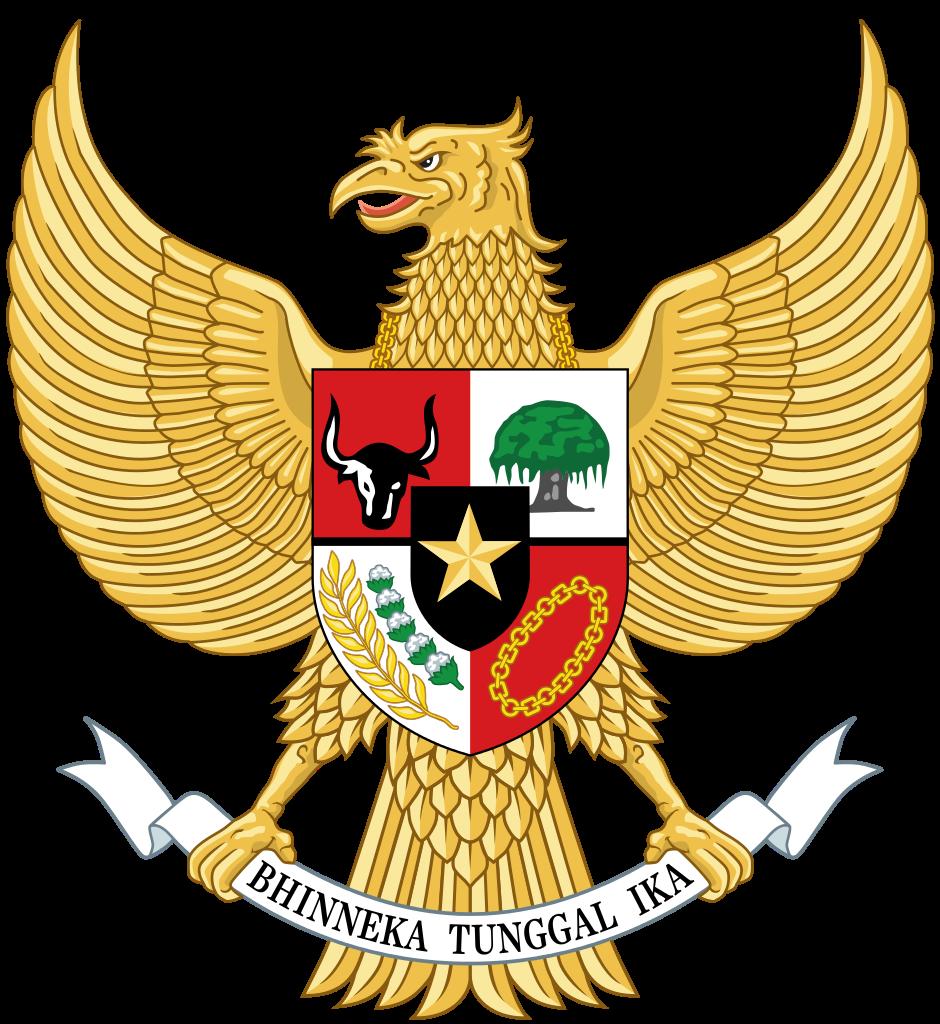 National emblem of Indonesia.
