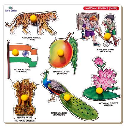 NATIONAL SYMBOLS INDIA.