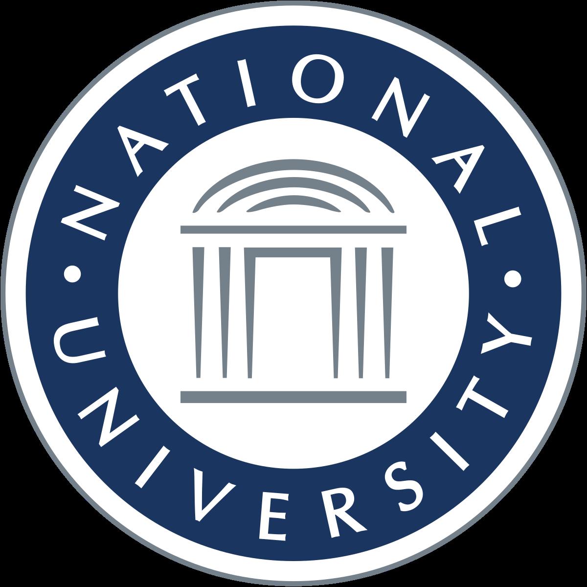 National University San Diego Logo , Transparent Cartoon.
