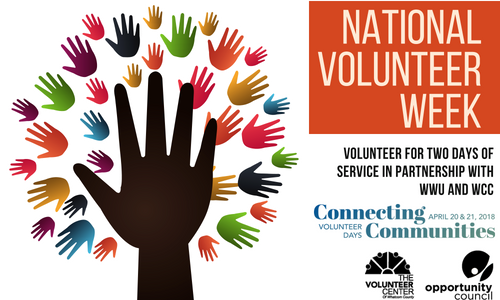 National Volunteer Week.