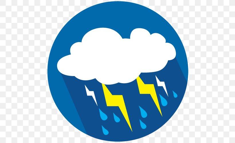 Thunderstorm Tornado Severe Weather Clip Art, PNG, 500x500px.