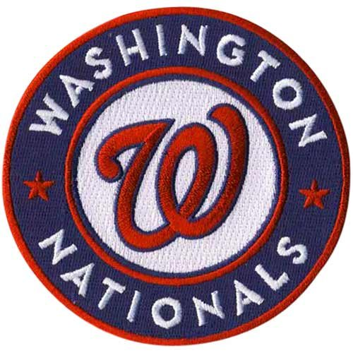 Amazon.com: MLB Washington Nationals Embroidered Team Logo.