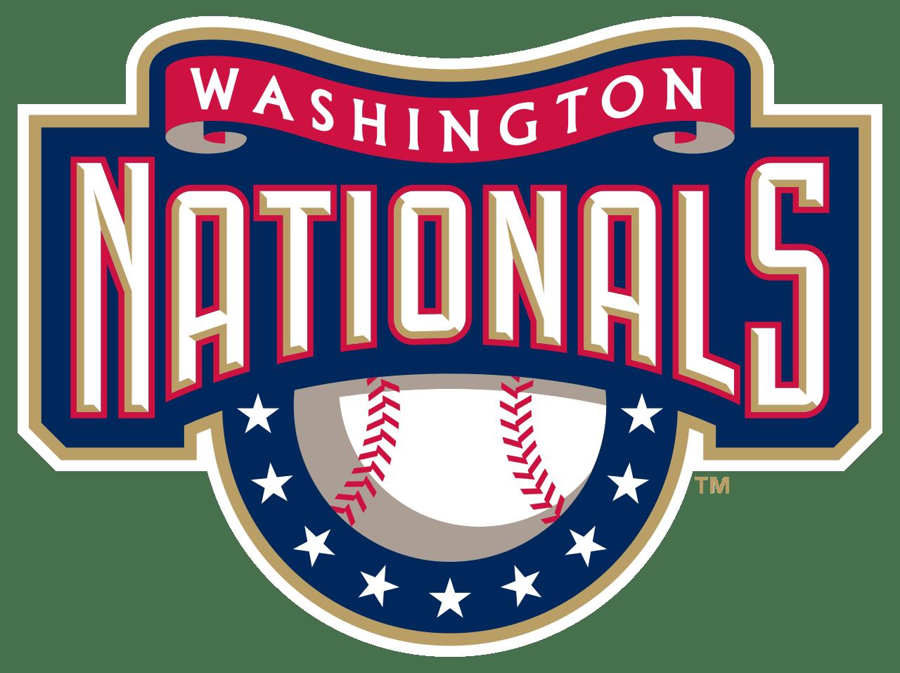 Washington Nationals Logo Sign transparent PNG.