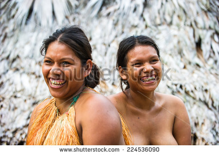 Native Amazon People In Clipart.