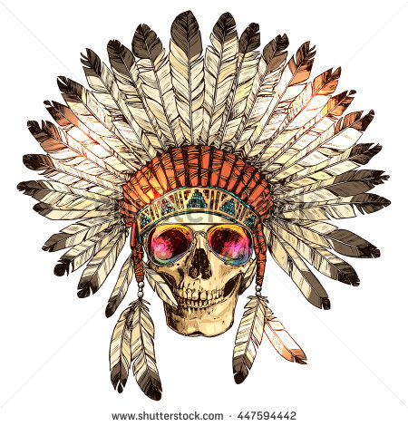 American Indian Stock Images, Royalty.