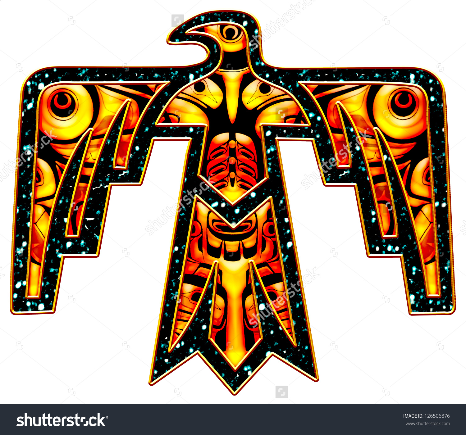 native america indian symbol clipart in color - Clipground