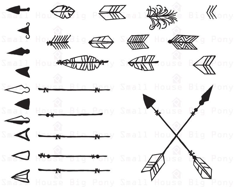 Arrows clipart native american, Arrows native american.