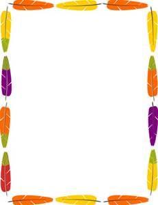 Native American Clip Art Borders.