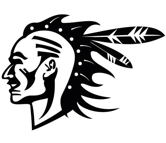 Native American Buffalo Head Clipart Free Silhouette 20