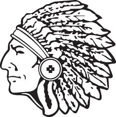 Gallery For > Indian Chief Mascot ….