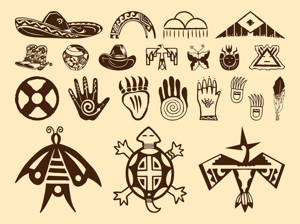 Native American Feather Clip Art.