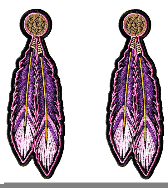Native American Feathers Clipart.