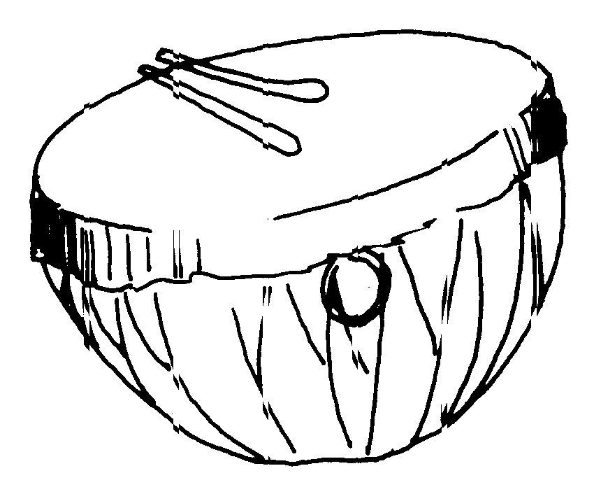 2049 Drum free clipart.