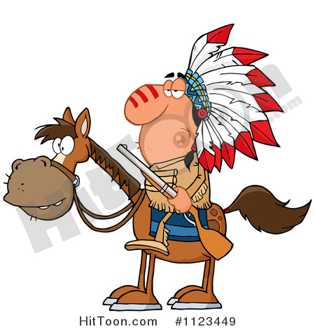 Chief Clipart #1123449: Native American Indian Chief on.
