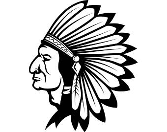Tribal Chief Clipart.
