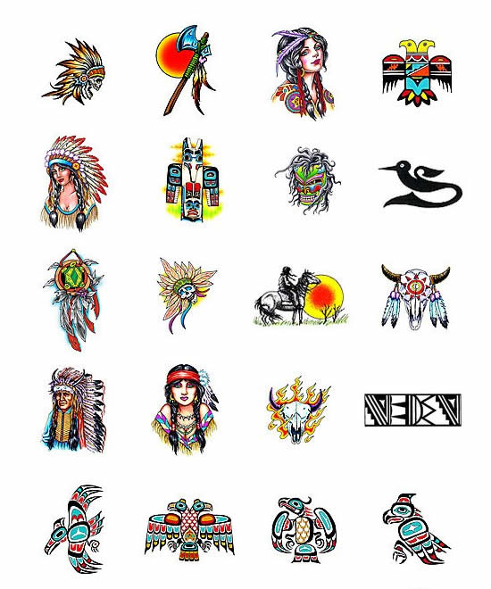 Native american symbols and meanings.