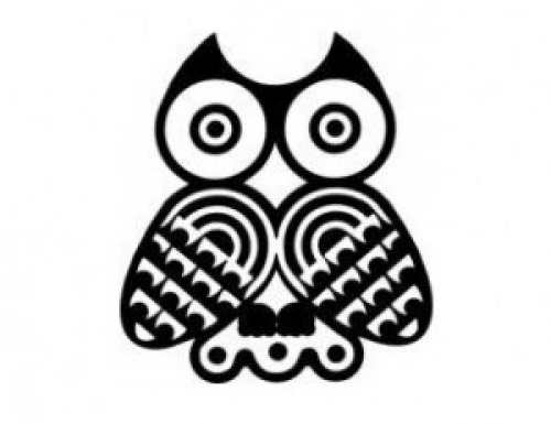 Native American Indian Symbol Clipart In Color Owl Clipground