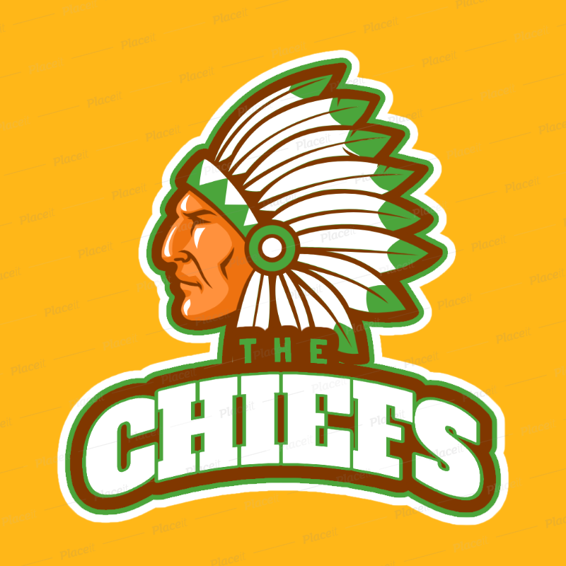 Sports Logo Maker with Native American Graphics a29e.