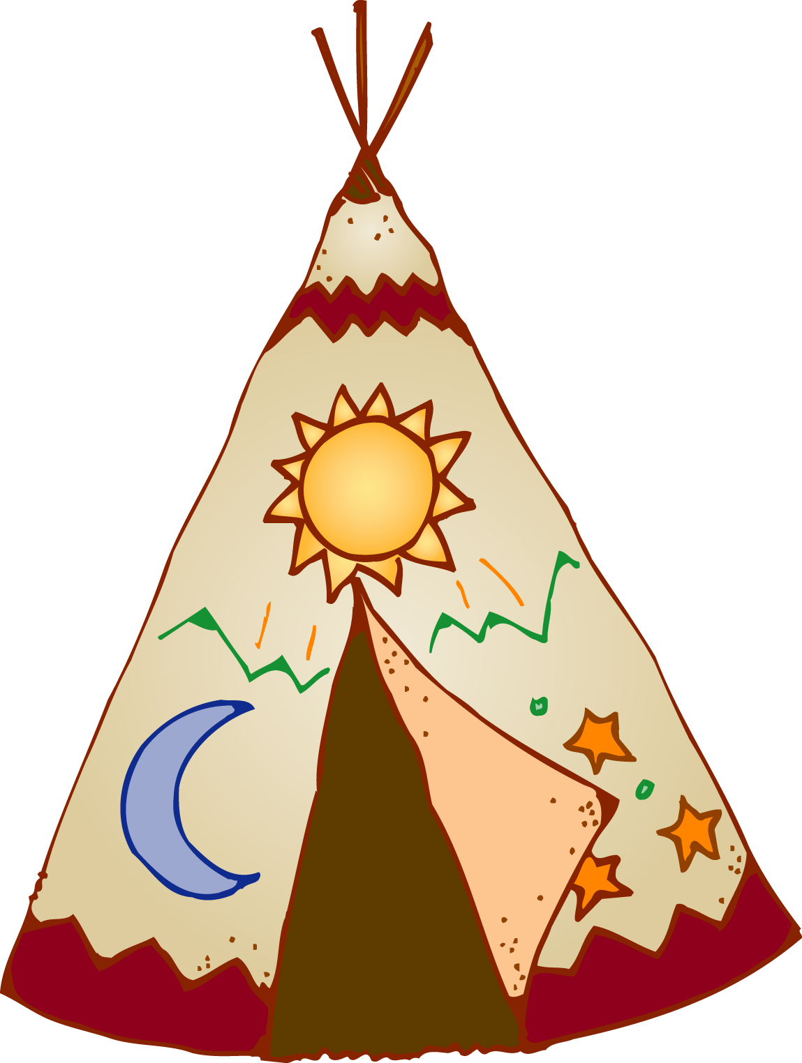 Teepee Clipart At Getdrawings.