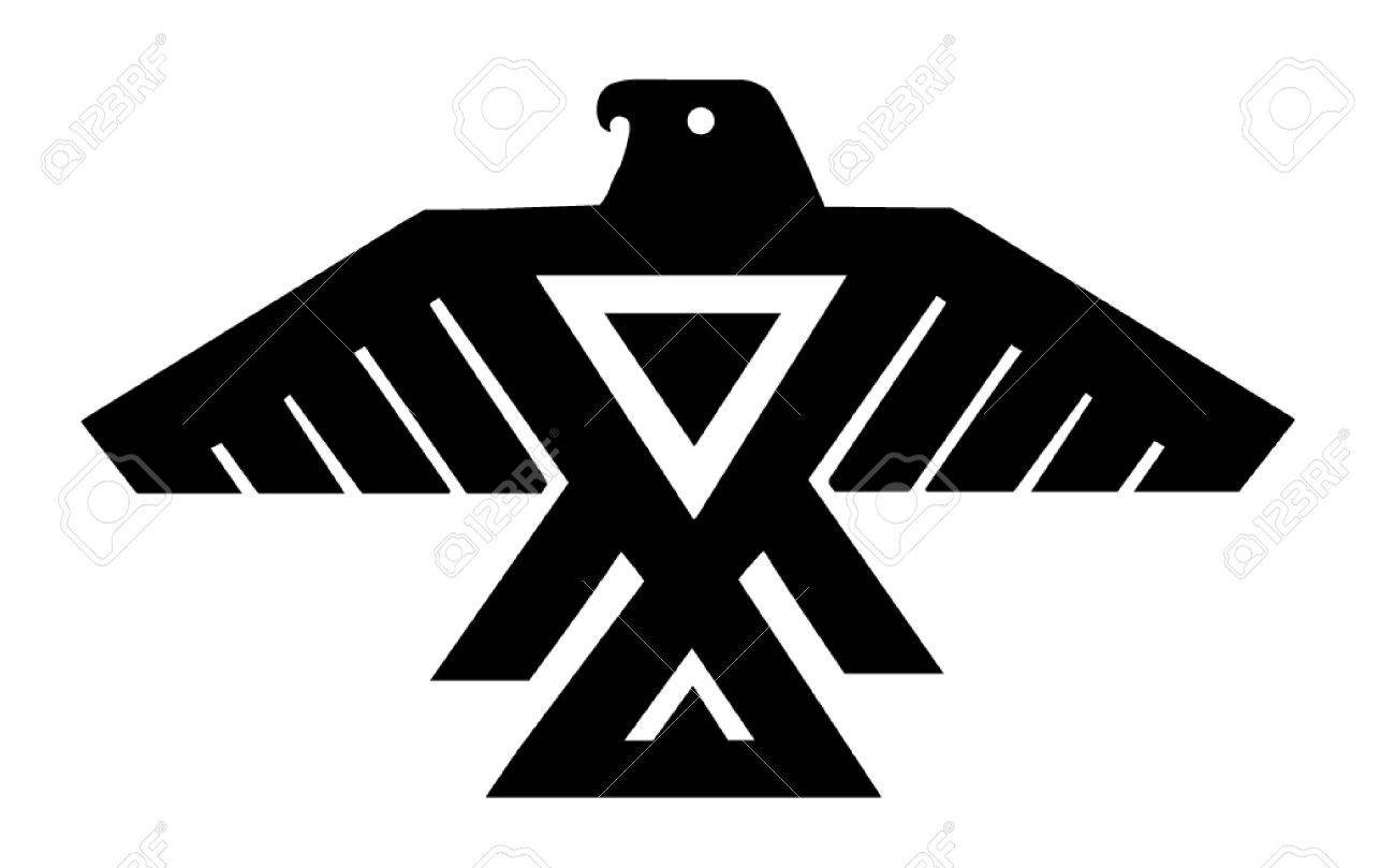 American Indian Thunderbird Totem.