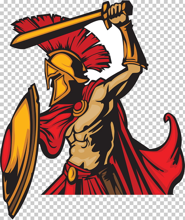Spartan army Warrior , native american warrior drawing PNG.