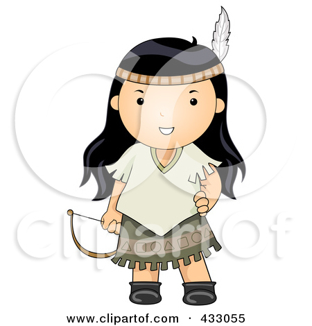 Clipart of a Native American Indian Teepee.