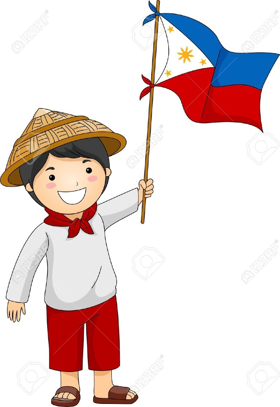 Filipino Kid Clipart.
