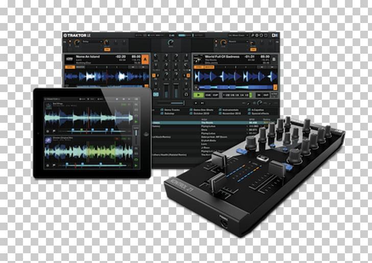 Traktor Disc jockey Audio Mixers Native Instruments DJ mixer.